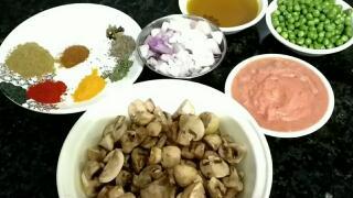 recipe of mushroom in hindi