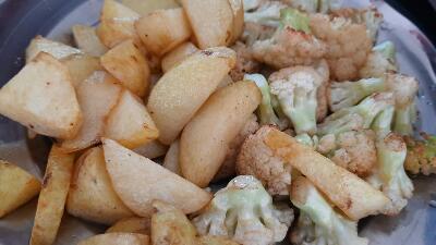 आलू गोभी की सूखी सब्जी